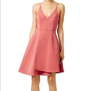 Spice No Secrets Pink Asymmetrical Cocktail Dress